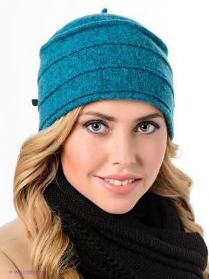 Шляпа SEEBERGER. Цвет: морская волна