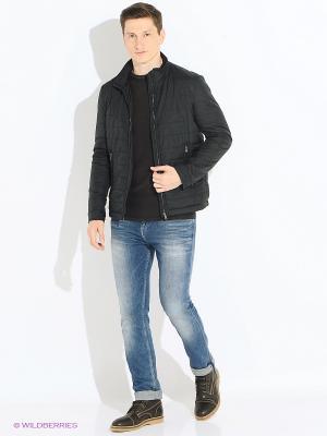 Куртка INCITY. Цвет: черный