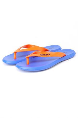 Шлепанцы ДЮНА. Цвет: оранжевый