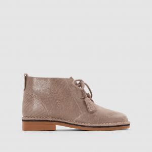 Ботинки из кожи Cyra Catelyn HUSH PUPPIES. Цвет: серо-коричневый