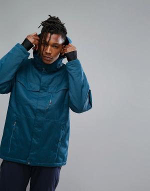 Killtec Куртка с капюшоном Kimo Ski. Цвет: серый