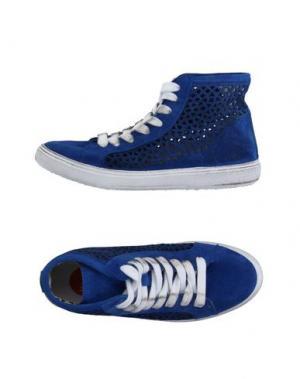 Высокие кеды и кроссовки WOZ?. Цвет: синий