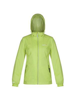 Куртка Corinne III REGATTA. Цвет: светло-зеленый