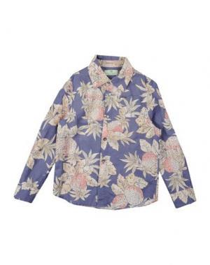 Pубашка SCOTCH & SHRUNK. Цвет: розовато-лиловый