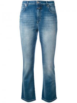 Расклешенные укороченные джинсы Closed. Цвет: синий