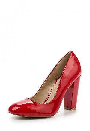 Туфли Buffalo London. Цвет: красный