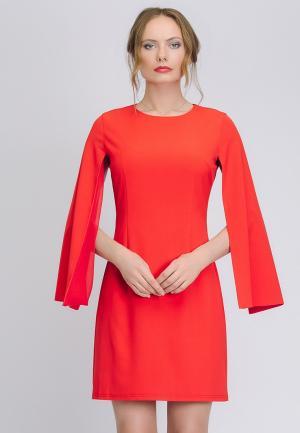 Платье Cavo. Цвет: красный