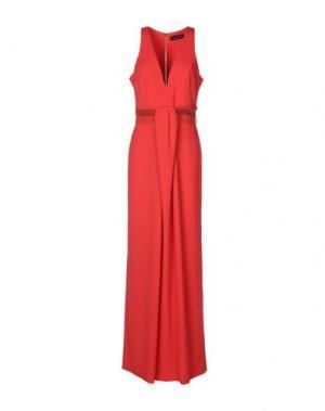 Длинное платье NORA BARTH. Цвет: красный