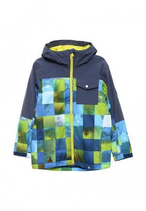 Куртка горнолыжная Quiksilver. Цвет: голубой