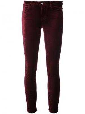 Velvet jeans Paige. Цвет: красный