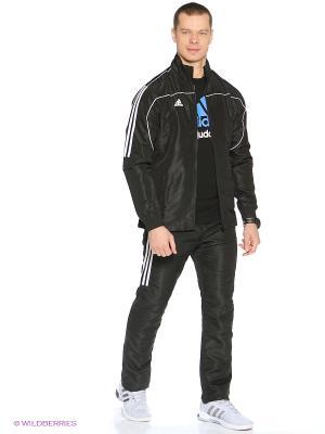 Костюм спортивный Tracksuit Martial Arts Adidas. Цвет: черный