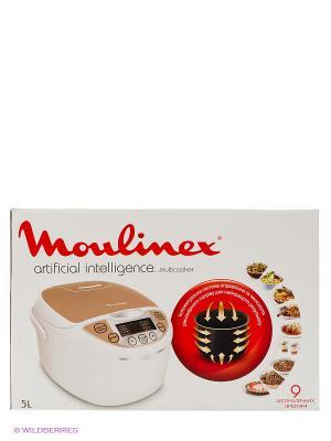 Мультиварка MOULINEX MK706A32, 750Вт, белый/бежевый. Цвет: белый