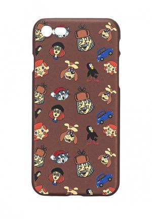 Чехол для iPhone Запорожец Heritage. Цвет: коричневый