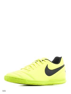 Кеды для зала TIEMPO RIO III IC Nike. Цвет: желтый