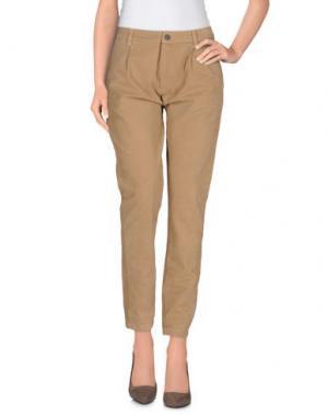 Повседневные брюки MACCHIA J. Цвет: хаки
