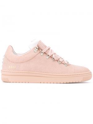 Lace-up sneakers Nubikk. Цвет: розовый и фиолетовый