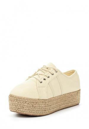 Ботинки Coco Perla. Цвет: бежевый