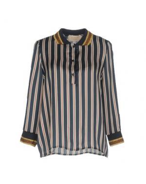 Блузка KAOS JEANS. Цвет: темно-синий