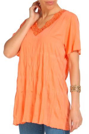 Блуза RITA PFEFFINGER. Цвет: оранжевый