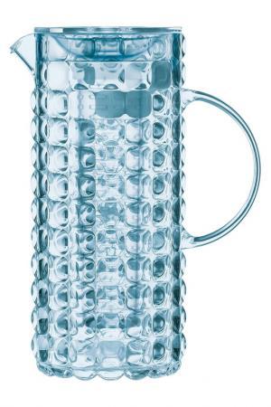 Кувшин с колбой для льда GUZZINI. Цвет: голубой