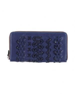 Бумажник GABS. Цвет: темно-синий