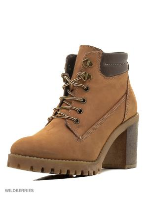 Ботинки Mascotte. Цвет: рыжий