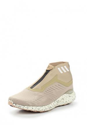 Кроссовки adidas. Цвет: бежевый