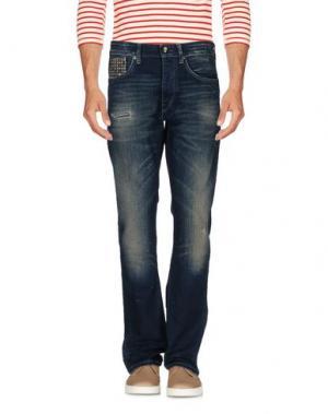 Джинсовые брюки WE ARE REPLAY. Цвет: синий