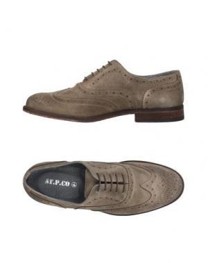 Обувь на шнурках AT.P.CO. Цвет: серый