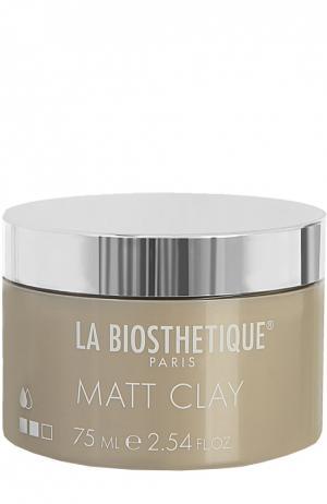 Структурирующая и моделирующая паста Matt Clay La Biosthetique. Цвет: бесцветный