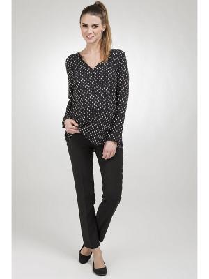 Роскошные брюки из легкой ткани длиной 7/8 Balloon-Paris. Цвет: черный