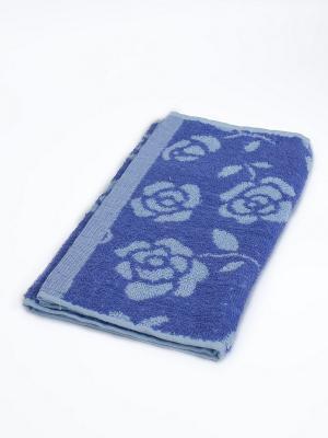 Полотенце Цветы La Pastel. Цвет: сиреневый, голубой
