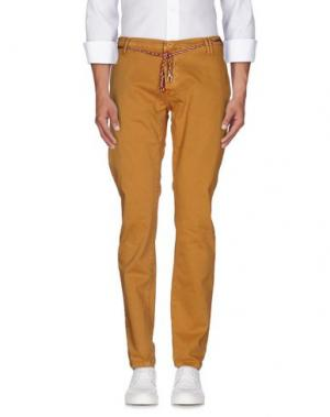 Повседневные брюки (M) MAMUUT DENIM. Цвет: верблюжий