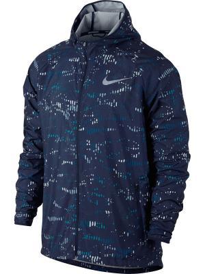 Куртка M NK ESSNTL JKT PR Nike. Цвет: синий