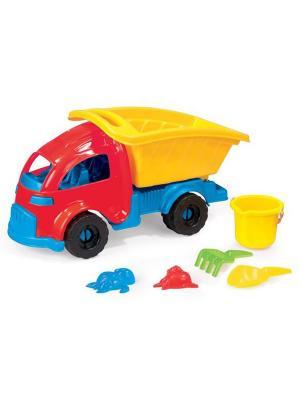 Грузовик с просторным кузовом Dolu.. Цвет: желтый