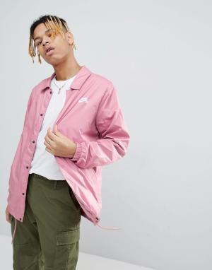 Nike SB Розовая спортивная куртка 829509-678. Цвет: розовый