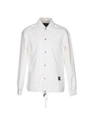 Куртка WEMOTO. Цвет: белый