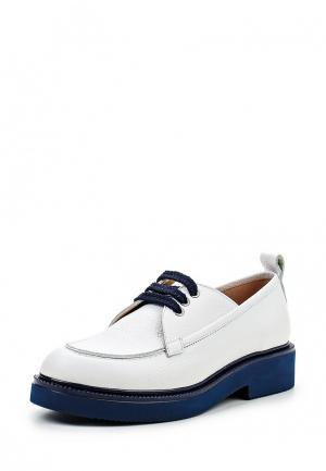Ботинки Alpino. Цвет: белый