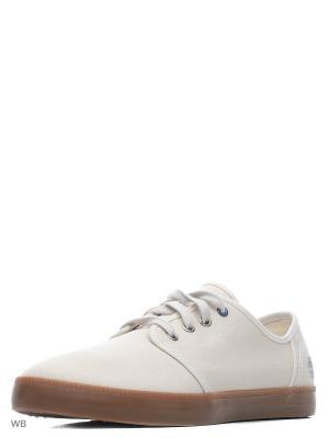 Ботинки TIMBERLAND. Цвет: молочный