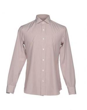 Pубашка SALVATORE PICCOLO. Цвет: красно-коричневый