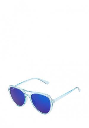 Очки солнцезащитные Pretty Mania. Цвет: голубой