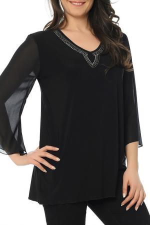 Блуза CLAUDIA MILLEN. Цвет: черный