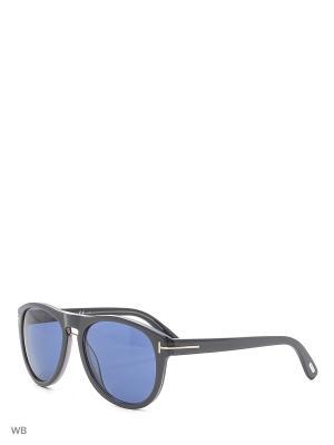 Солнцезащитные очки FT 0347 50J Tom Ford. Цвет: черный, серый