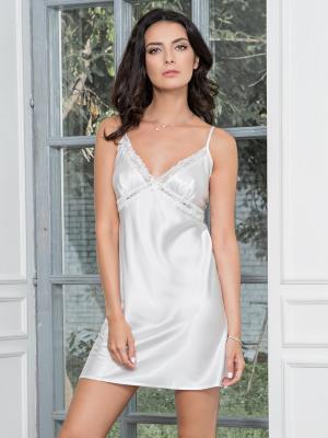 Ночная сорочка MIA-DIVA. Цвет: белый
