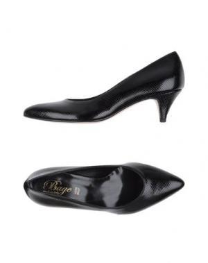 Туфли BAGE. Цвет: черный