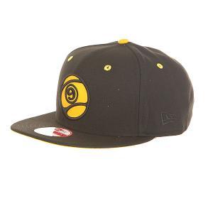 Бейсболка с прямым козырьком  9 Ball Snapback Black Sector. Цвет: черный
