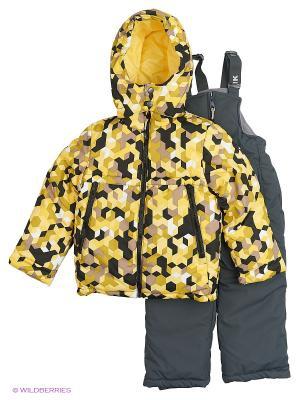 Комплект batik. Цвет: желтый, темно-серый