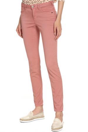 Брюки SCOTCH & SODA. Цвет: pink, розовый