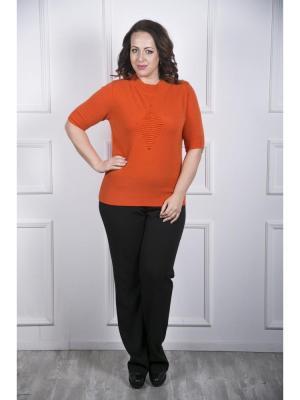 Джемпер Maria Grazia Severi. Цвет: оранжевый