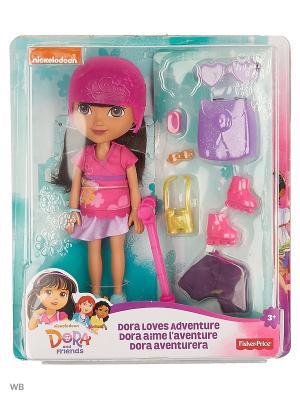 Даша и друзья Куклы с аксессуарами Mattel. Цвет: фиолетовый, розовый